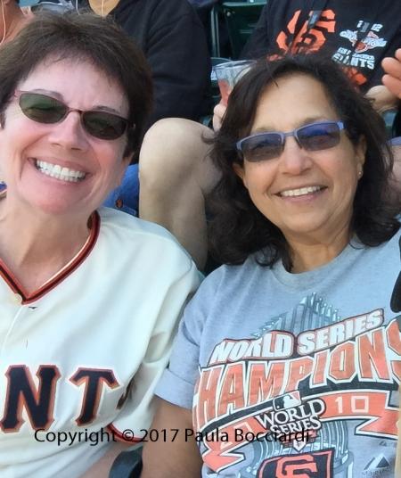 2016_Giants game_Mona Alves, Paula
