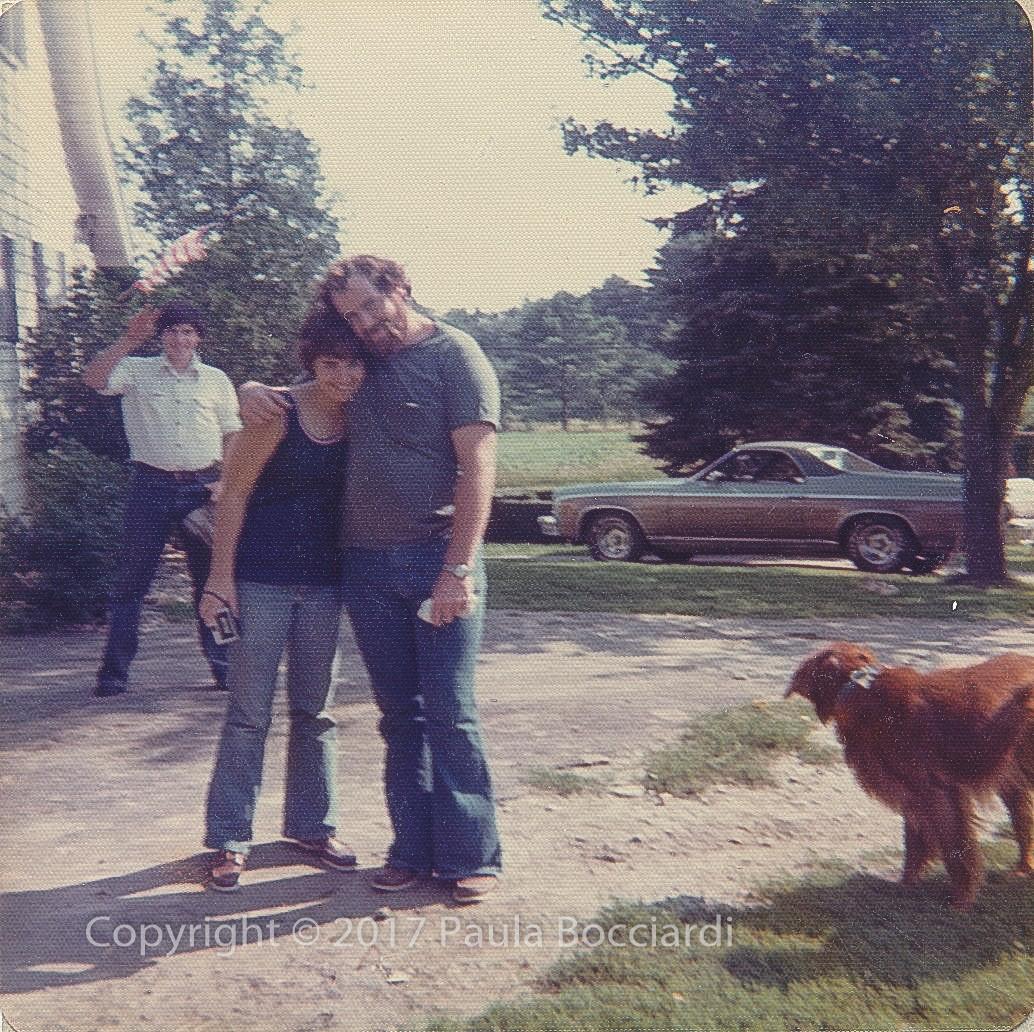 1976_Maine_Chris, Paula, Steve Purington