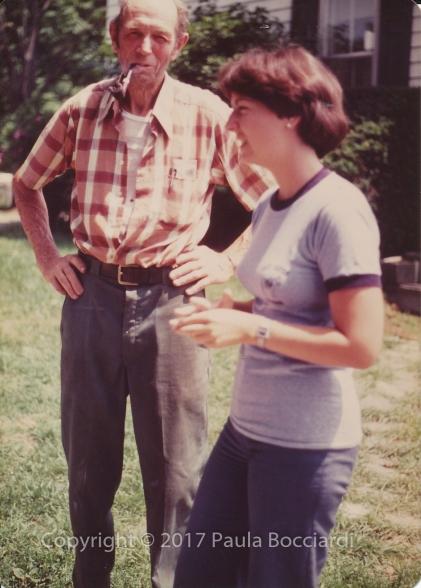 1980_07_Gardiner, Maine_Charlie Purington, Paula