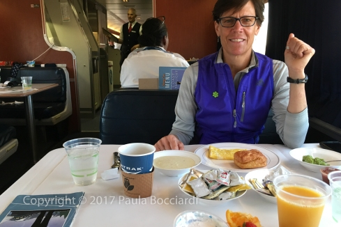 007_Coast Starlight train trip, September 2017_breakfast_ML 3