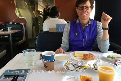 007_Coast Starlight train trip, September 2017_breakfast_ML 3