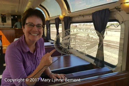 018_Coast Starlight train trip, September 2017_Parlour Car_Paula 1