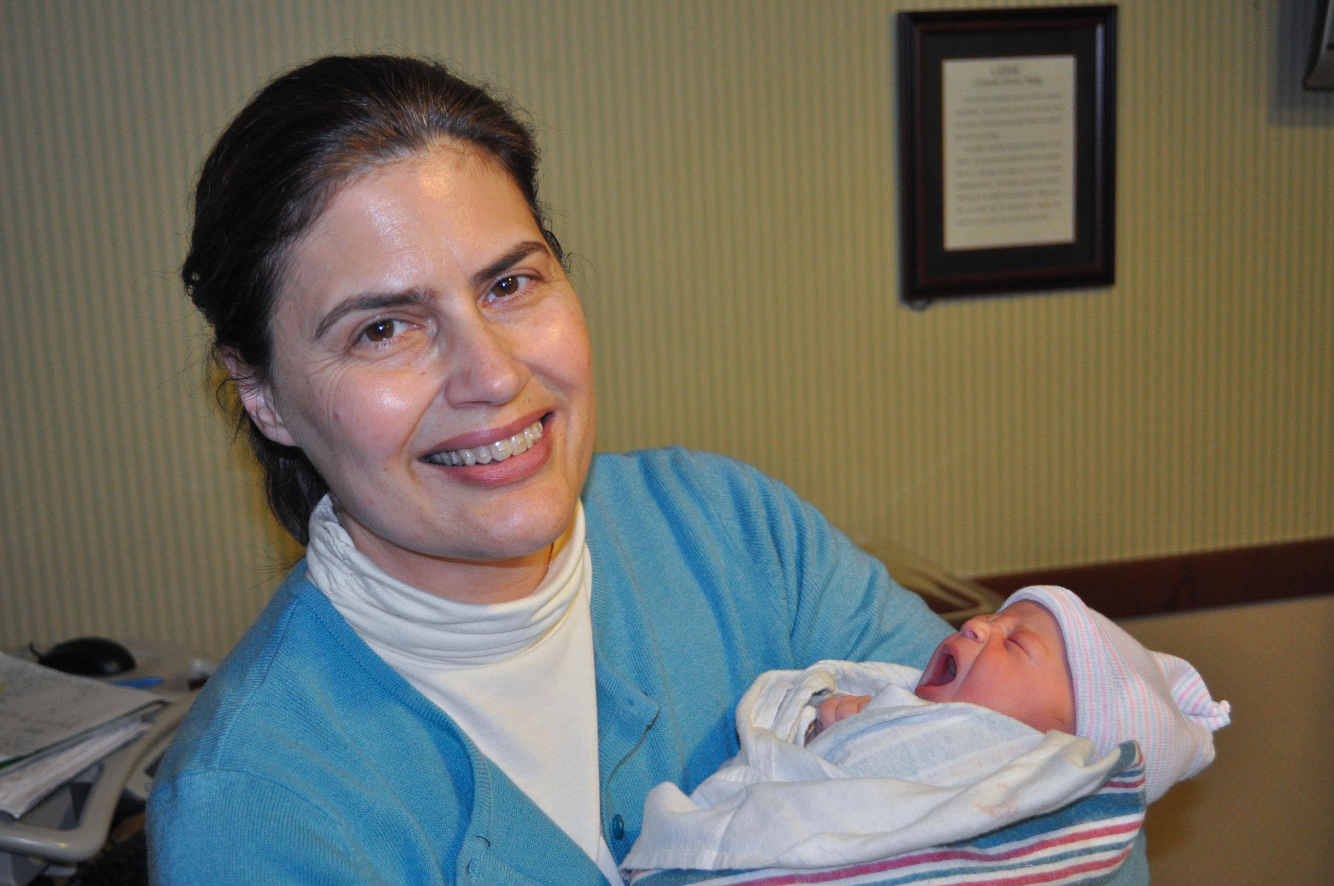 Ellen Loerke and granddaughter Allie
