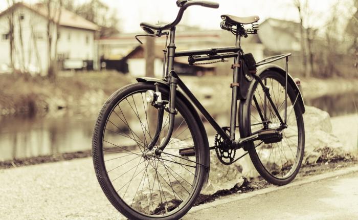 A bike, some undies, and agun